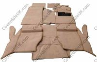 Rover P5b Coupe 1967 to 1973 Carpet Set full felted/webbing as original  - Wessex Wool Range